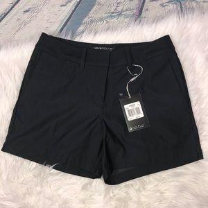 Nike Women's Black Dri-Fit Golf Shorts 2 NWT